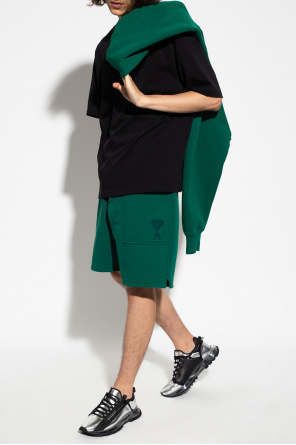 Shorts with logo od Ami Alexandre Mattiussi