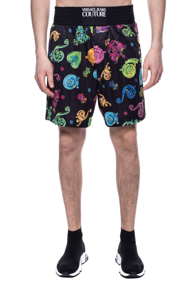 Shorts with logo od Versace Jeans Couture