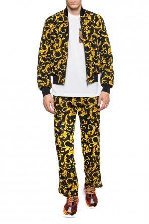 'baroque' sweatpants od Versace