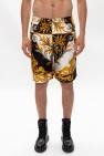 Versace Barocco-printed shorts
