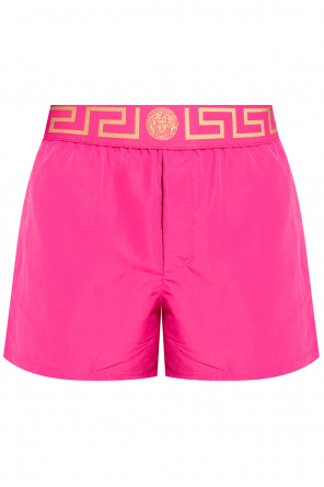Swim shorts with logo od Versace