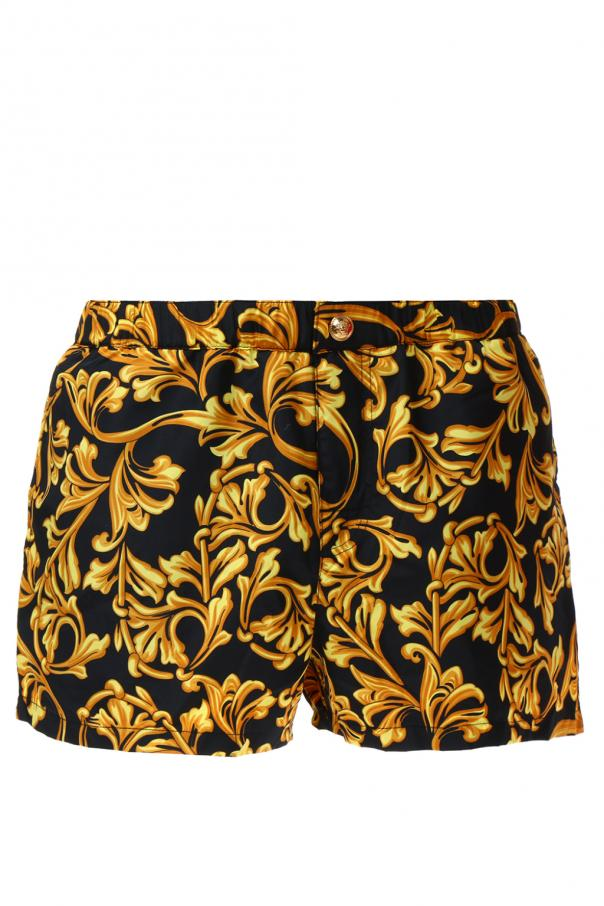 f9d35d6c7816a Baroque pattern swim shorts Versace - Vitkac shop online