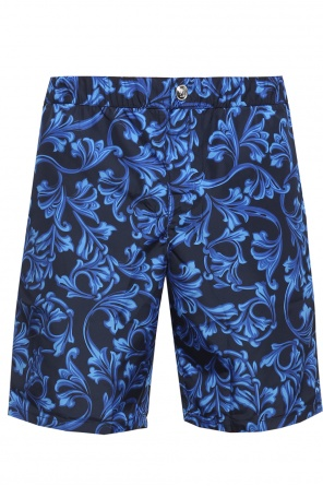 Patterned swim trunks od Versace