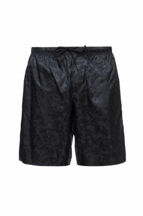 Swimming shorts with baroque motif od Versace
