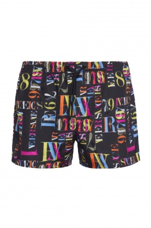 Printed swim shorts od Versace