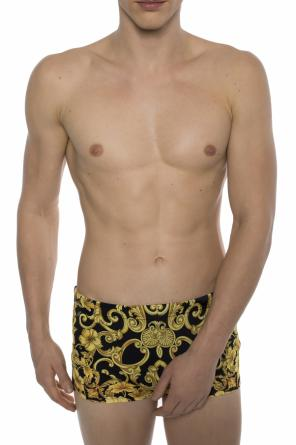 Patterned swim shorts od Versace