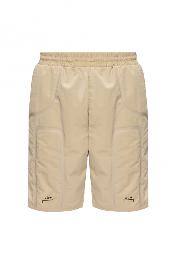 A Cold Wall Logo shorts