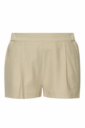 'aleida' pleated shorts od AllSaints