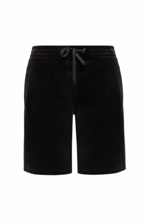 Logo-embroidered shorts od Versace