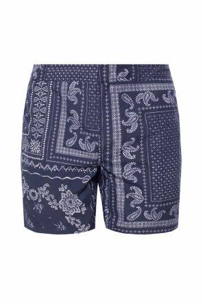 'bandana' patterned shorts od AllSaints