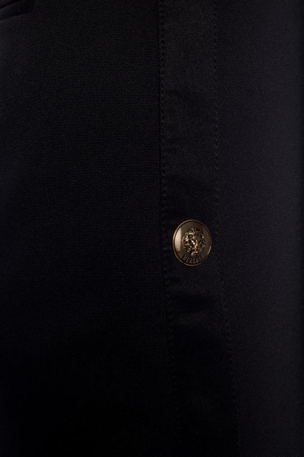 Shorts with decorative buttons od Versace Versus