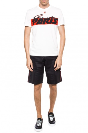 Logo-embroidered shorts od Givenchy