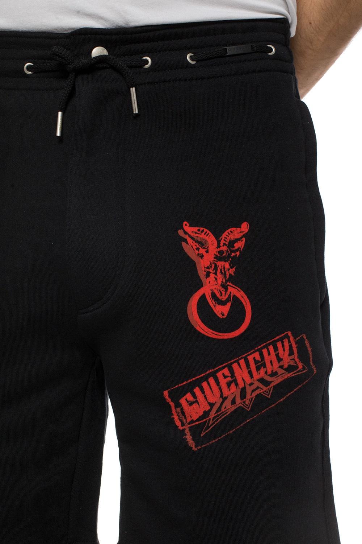 Givenchy Szorty dresowe z nadrukami