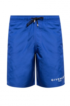 Swimming shorts with a printed logo od Givenchy