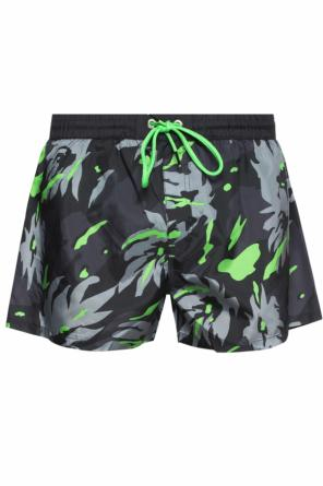 Camo motif swimming shorts od Diesel