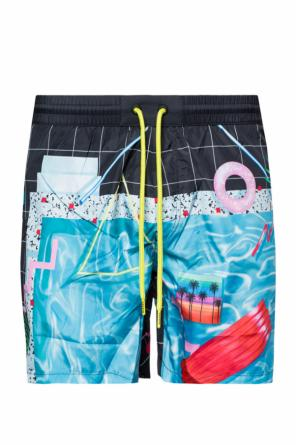Printed swim shorts od Diesel