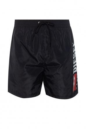 Branded swim shorts od Diesel