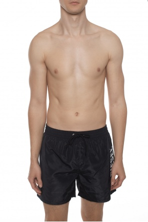Branded swim shorts od Diesel