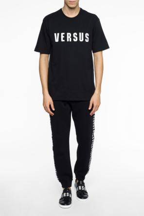 Logo side-stripe sweatpants od Versace Versus