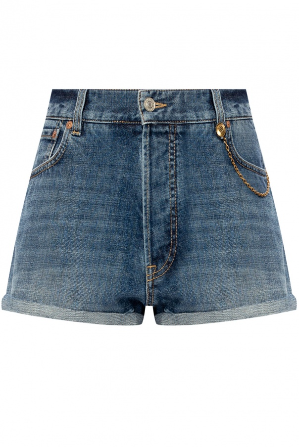 Givenchy Denim shorts with logo