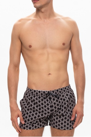 Logo swim shorts od Balmain