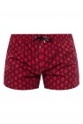 Balmain Patterned swim shorts