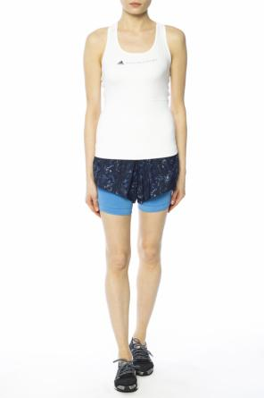 Two-layered shorts od Adidas by Stella McCartney