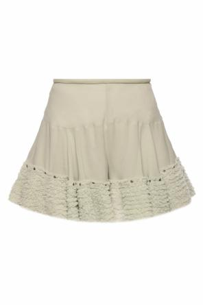 Ruffled shorts od Chloe