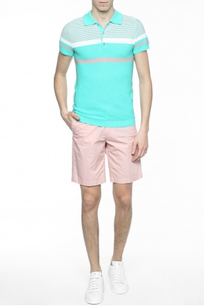 Pleat-front shorts od Diesel