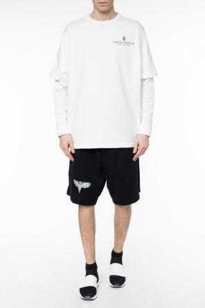 Printed sweat shorts od Marcelo Burlon