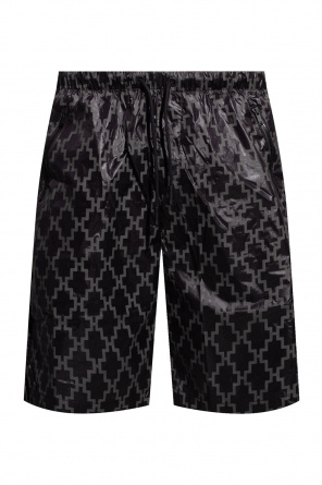 Swim shorts with logo od Marcelo Burlon