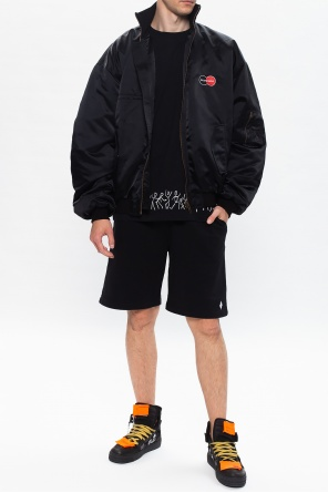 Shorts with logo od Marcelo Burlon