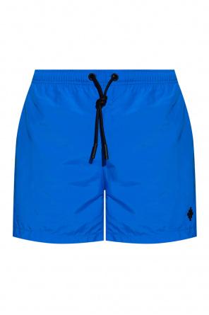 Swim shorts with logo od Marcelo Burlon