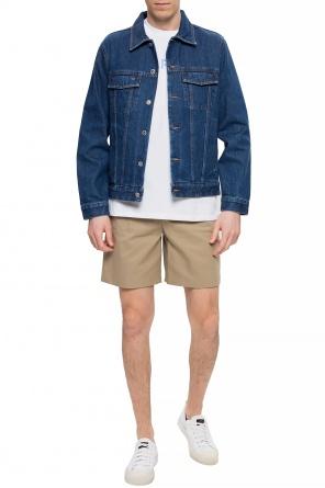 Creased shorts od A.P.C