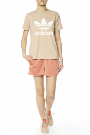 Embroidered logo shorts od Adidas