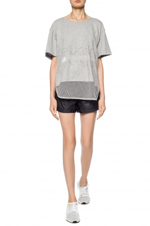 Logo-printed shorts od ADIDAS by Stella McCartney
