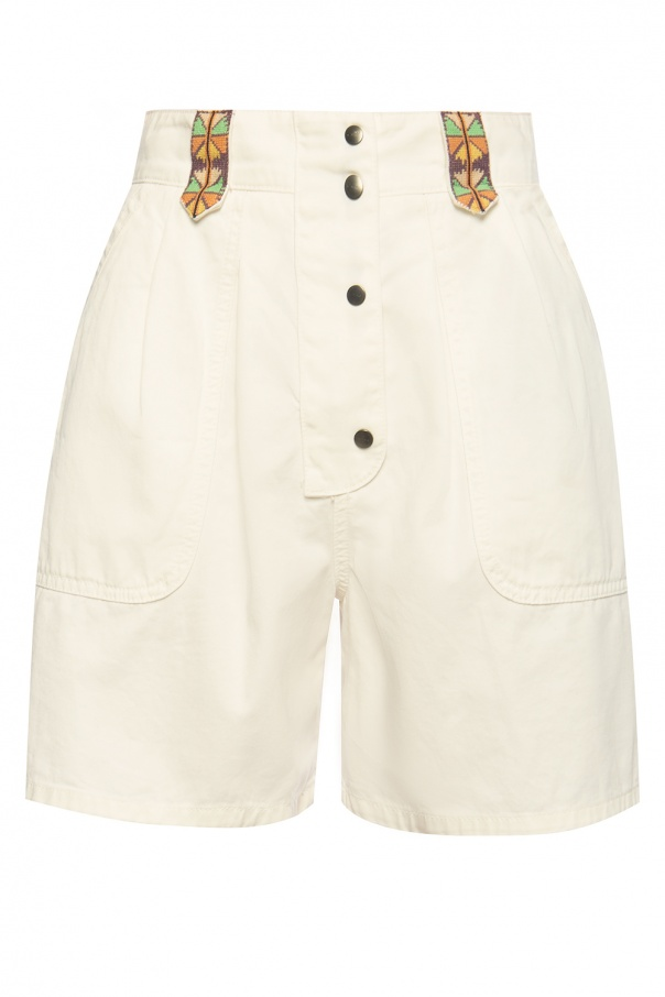 Etro Embroidered shorts