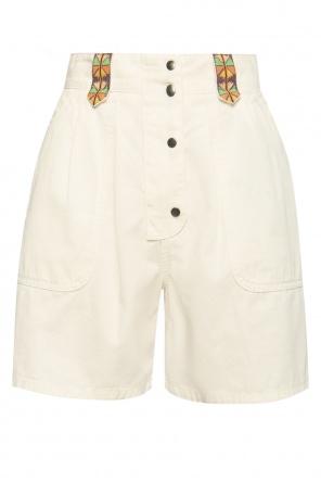 Embroidered shorts od Etro