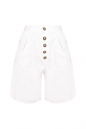 High-waisted shorts od Etro