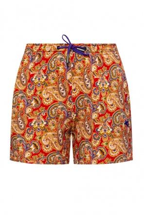 Patterned shorts od Etro