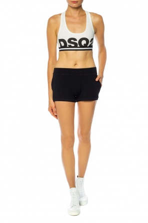 Logo sweat shorts od Dsquared2
