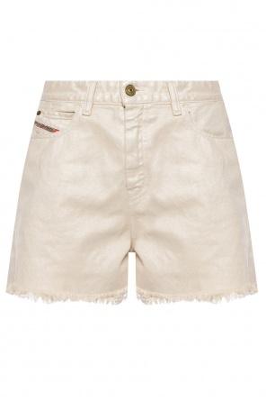High-waisted denim shorts od Diesel