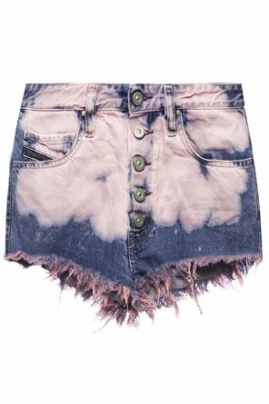 'de-ginger' denim shorts od Diesel