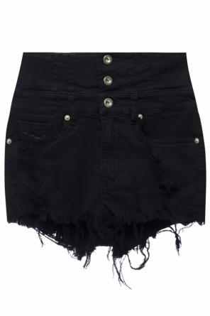 High-waisted denim shorts od Diesel