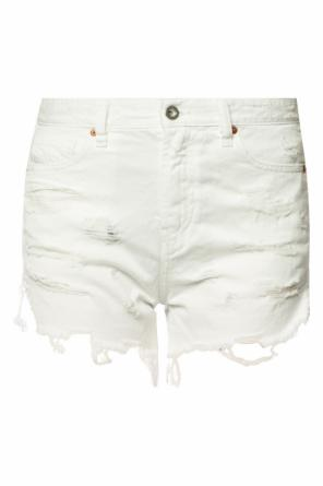 Denim shorts with holes od Diesel