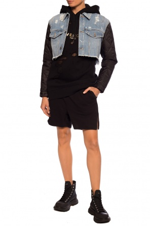 High-waisted shorts od Rick Owens DRKSHDW