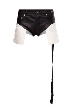 Shorts with raw-cut hems od Rick Owens DRKSHDW