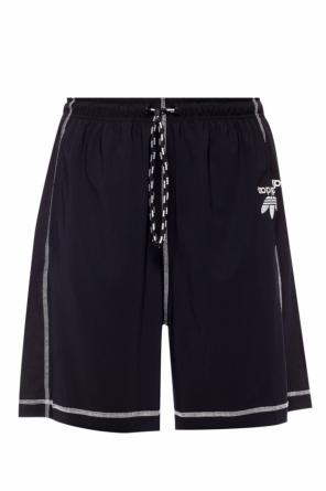 Logo-embroidered shorts od ADIDAS by Alexander Wang
