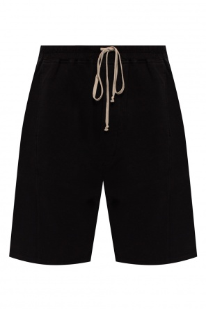 Cotton shorts od Rick Owens DRKSHDW