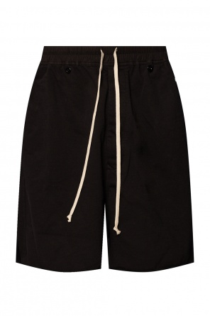 Raw-edge sweat shorts od Rick Owens DRKSHDW
